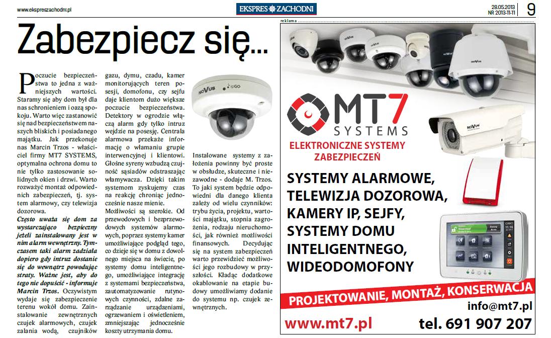 reklama mt7 systems ekspres zachodni